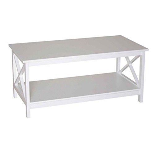 Phoenix Home 215101we - Mesa de centro (color blanco)