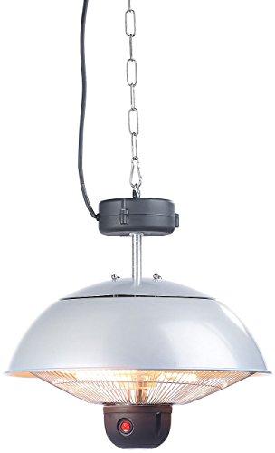 Semptec Quarz-Heizstrahler: Infrarot-Decken-Heizstrahler m. Fernbed, 800-2.000 Watt, LED, IPX4 (Infrarot-Außen-Heizstrahler) - 4