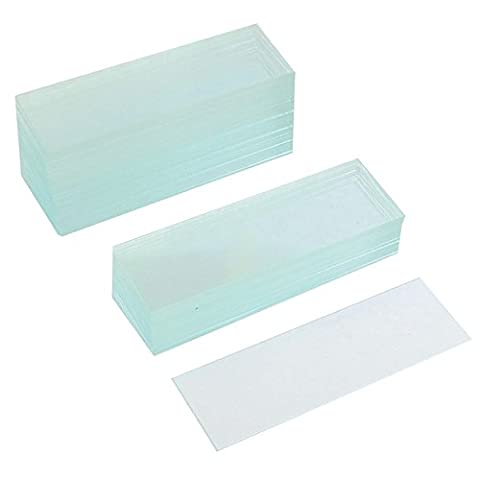 SODIAL(R) 50 Pcs Pre-cleaned Microscope Blank Glass Slides 1x3 inch