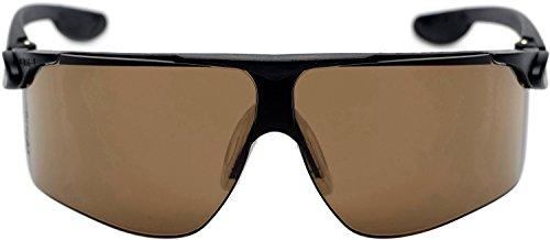 3M Maxim Schutzbrille Maxim3S, DX/UV, PC, bronze getönt, Rahmen schwarz, asphärische Scheiben für eine perfekte 180° Sicht