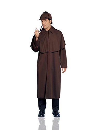 Adult Budget Sherlock Holmes Costume Fancy Dress