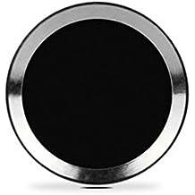 Well-goal-Pegatina para botón de Inicio (compatible con sistemas de identificación de huellas dactilares) para iPhone 5S, iPhone 6,iPhone 6Plus, iPad Air 2,iPad Mini 3, color negro, con anillo plateado