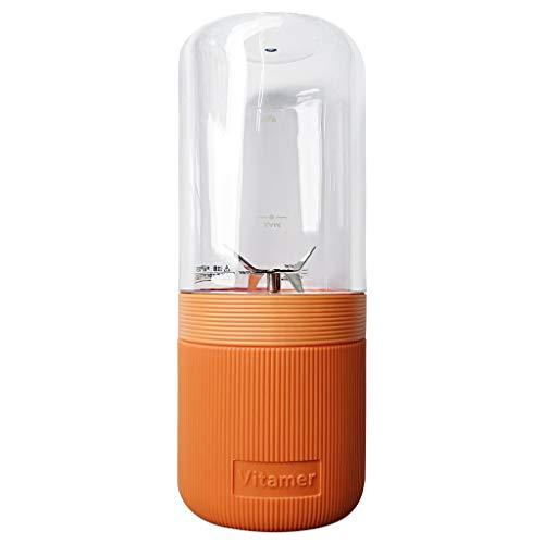 Hengzi Mini quadratischer Klapp Wasserkocher abnehmbarer Griff tragbarer Wasserkocher (Orange)