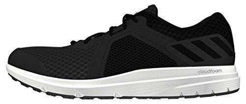 adidas Herren Galactic 2 Laufschuhe Schwarz (Utility Black/Core Black/Ftwr White)