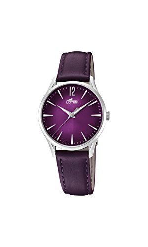 Lotus Watches Womens Analogue Classic Quartz Watch with Leather Strap 18406/6