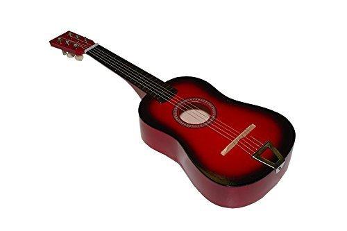 Imagen de juguetutto   gr. roja. con esta  de madera grande niños de todas las edades se aficionaran a la música y a este precioso instrumento muy español