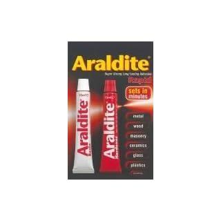 GLUE, ARALDITE, RAPID, 2X15ML RAPID 2X15ML By ARALDITE & Best Price Square