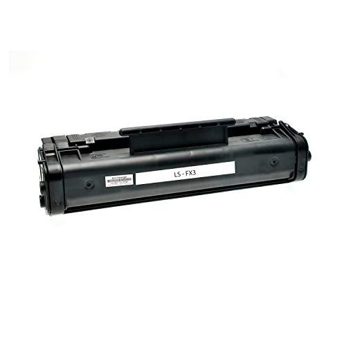 Toner kompatibel für Canon FX3 CFX L 3500 4500 IF Fax L 200 200 250 290 Series 300 3500 IF 4500 IF Faxphone 75 ImageClass 1100 Laserclass 1060 P Multpass L 60-1557A003 - Schwarz 3000 Seiten