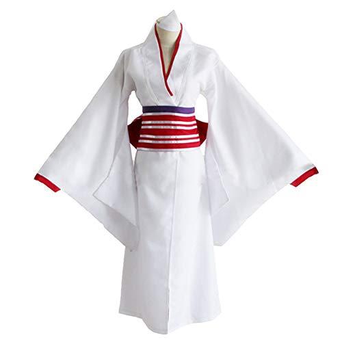 qingning NoraHi Cosplay Kleid Noragamie Kimonos Halloween Japanischer Anime Kostüm Vintage Dress Schuhe Anzug (Medium, Kleid+Schuhe+Socke) - Japanische Anime-kostüm