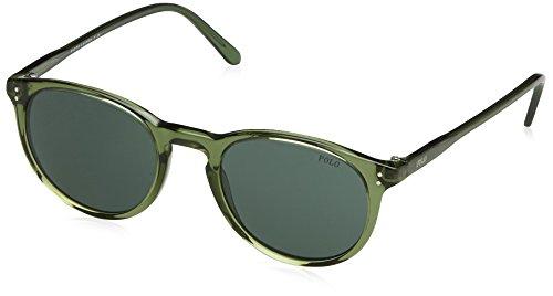 POLO RALPH LAUREN Sonnenbrille Mod. 4110 3671 (50 mm) grün (Lauren Ralph Polo Brille)
