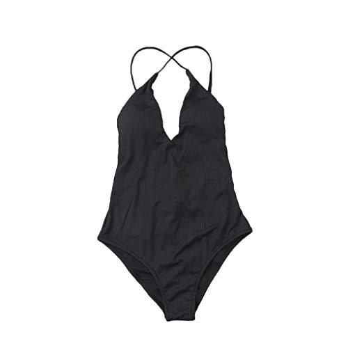JSMH Beach Supplies Damen Badeanzug BK-XL