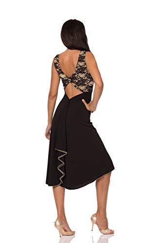 ABITO GIULIETTA BICOLOR. Abbigliamento donna da sera e da tango. Evening    Tango dress 97407080edb