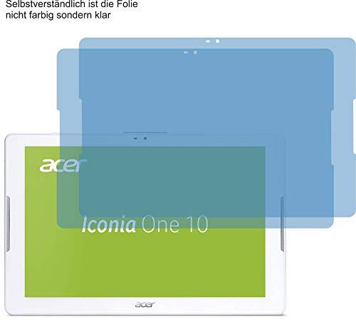 2X ANTIREFLEX matt Schutzfolie für Acer Iconia One 10 B3-A32 Bildschirmschutzfolie Displayschutzfolie Schutzhülle Bildschirmschutz Bildschirmfolie Folie