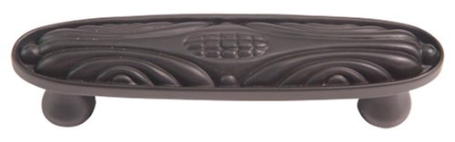 Atlas Homewares 4-Zoll Die Classics Collection Odeon Pull, 242-O - Atlas Cabinet Hardware