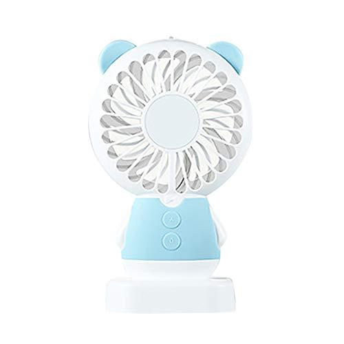 Tragen Im Kostüm Das Schlafzimmer Von - LILIGOD Tragbarer Handkühl Ventilator Bunter LED-Hand-USB Wiederaufladbarer Elektrischer Lüfter Mini Tragbare Fan,Bunte Lichter, Handventilator Outdoor Schlafzimmer Mini Ventilator