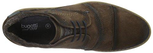 Bugatti 312169033400, Derby homme Marron - Braun (d.braun 6100)