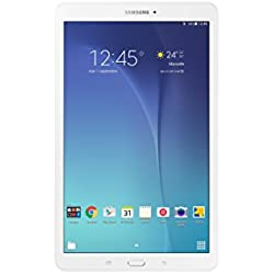 "Samsung SM-T560PW35 - Samsung Galaxy Tab E T560 - Tablet de 9.6"" (WiFi + Bluetooth, 8 GB, 1.5 GB RAM, Android), color blanco"