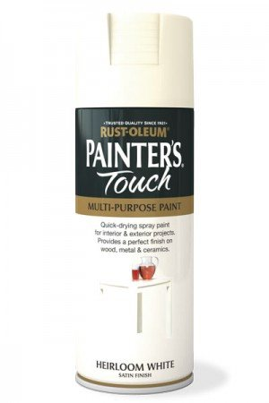 rust-oleum-painters-touch-multi-purpose-aerosol-spray-paint-400ml-heirloom-white-satin-2-pack