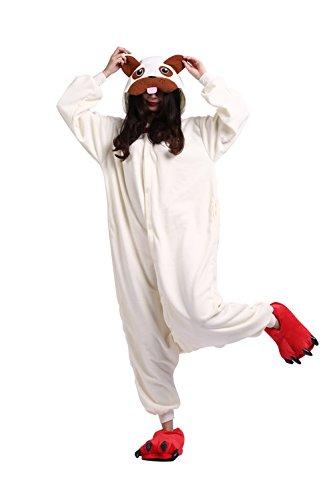 Hstyle Unisexe Bande Dessinée Pyjamas Onesies Halloween Party Robe De Fantaisie Kigurumi Combinaisons Chien Moyen
