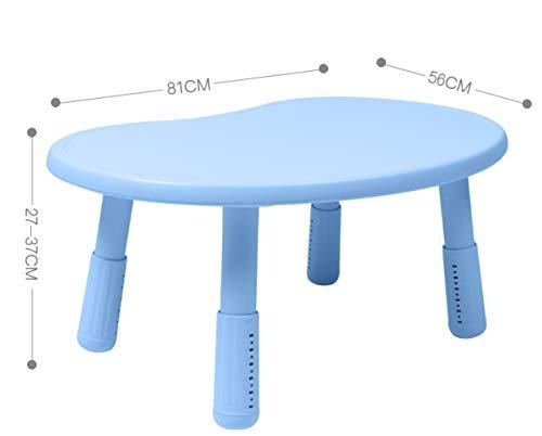 FJT Netter Stil,Tabelle,Kindergarten,Party,Kind,Schreibtisch,Vorschule,Stetig Aktivitätstabelle/Blau/M