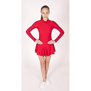EMZA Eiskunstlaufbekleidung für Kinder und Erwachsene – Elastischen Lycra