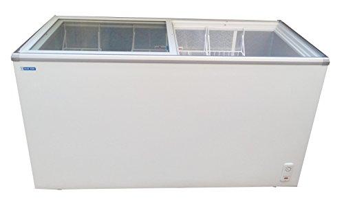 Blue Star Glass top deep freezer 300 liter