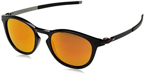 Ray-Ban Herren 0OO9439 Sonnenbrille, Schwarz (Polished Black), 50