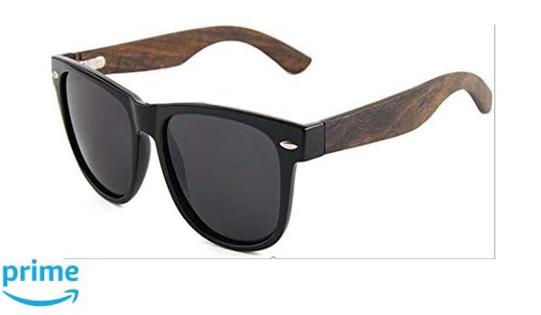 9a8f17c7bc4 Sweeneys Polarised Sunglasses - Ebony Wood - Black Frame - Black Smoke Lens   Amazon.co.uk  Clothing