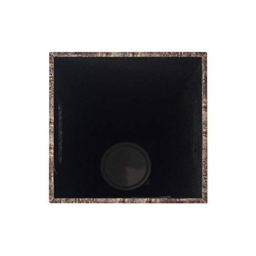 RE4834 Rebecca Mobili Portaombrelli Design Vintage HxLxP - Art con Decorazioni Grigio celese Misure: 50 x 21 x 21 cm Porta Ombrello per entrata casa Ufficio Canvas