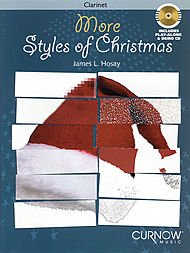 More Styles of Christmas Softcover with CD Intermediate Level Instrumental Play-Along Packs - Bb Clarinet