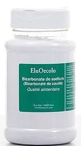 Bicarbonate de Soude Alimentaire 500g boite poudreuse hermétique - EluOecolo Made in France
