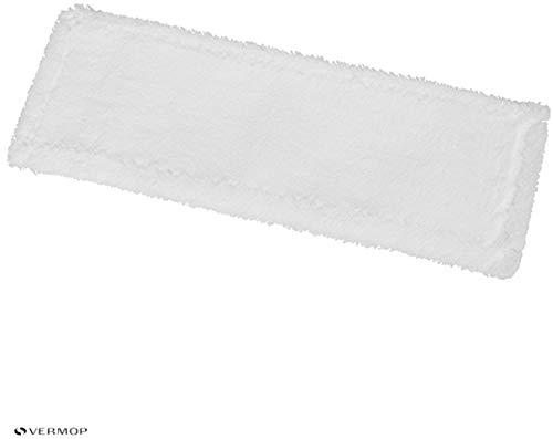 Vermop Sprint Progressive - Microfaser Mop - für Nass- und Feuchtreinigung - weiß - 40 cm - 1 Stück