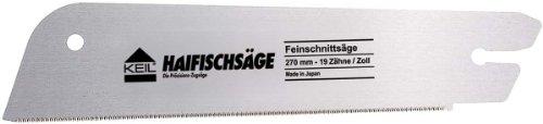 KEIL 100 022 410 Ersatzblatt für Japanische Haifischsäge - Feinschnittsäge 270 mm - 19 Zähne/Zoll