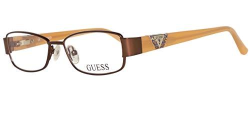 Guess Unisex-Kinder Brille GU9125 47D96 Brillengestelle, Braun, 47