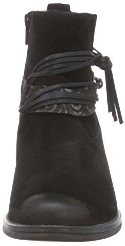 Tamaris25888 - Stivali classici imbottiti a gamba corta Donna Nero (Schwarz (BLACK COMB 098))