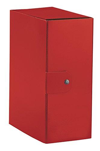 Esselte cartella a scatola per l'archiviazione di documenti a lungo termine, a4, dorso 15 cm, rosso, 1 pezzo