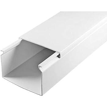 20 m 120 x 60mm Profi Kabelkanal Schraubbar PVC SCOS® Elektro Kanal