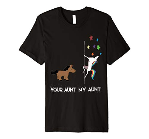 2138f95bc5e Auntie aunt cute unicorn tshirts the best Amazon price in SaveMoney.es