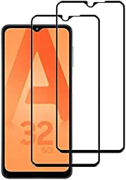 YoYoTech (2 Pack) Ultra High Definition Tempered Glass Screen Protector Designed for Samsung Galaxy A72, HD Sc
