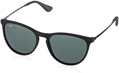 Ray Ban Junior 9060S - Gafas de sol para mujer, color rubber black
