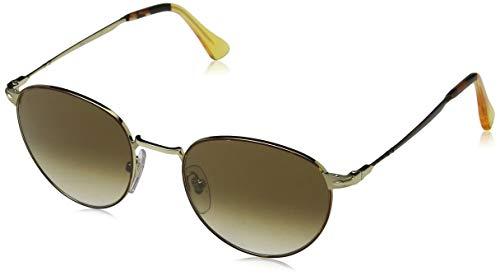 Persol Herren 0Po2445S 107551 52 Sonnenbrille, Gold/Brown