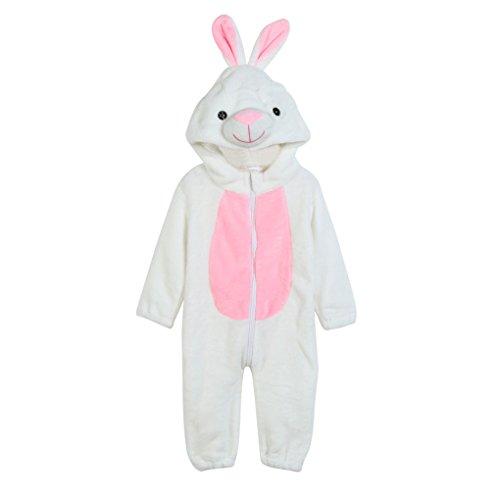JYJMToddler Newborn Baby Boys Girls Animal Cartoon Hooded Rompers Outfits Clothes (Größe: 3Jahr, (Robe Kostüm Muster Hooded)