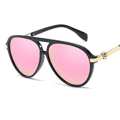 AAMOUSE Sonnenbrillen Frauen Vintage Sonnenbrille Unisex schädel Dekoration Mode schwarz Aviator Sonnenbrille weibliche gradienten Shades