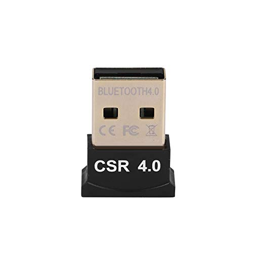 ASHATA Bluetooth USB Adapter, CSR4.0 USB Bluetooth Dongle Stick Adapter Mini USB Dongle Receiver,Drahtloser USB Wireless Dongle Adapter für PC Computer Headset Drucker usw.