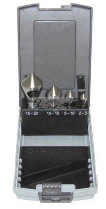Querlochsenkerset hSS - 4 pièces - 5/10/15/20 mm)