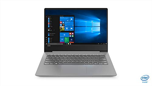Lenovo Ideapad 330s Intel Core i3 8th Gen 14-inch Full HD Thin & Light Laptop (4GB + 16GB Optane/1TB HDD/Windows 10 Home/Platinum Grey/1.7kg), 81F400PEIN