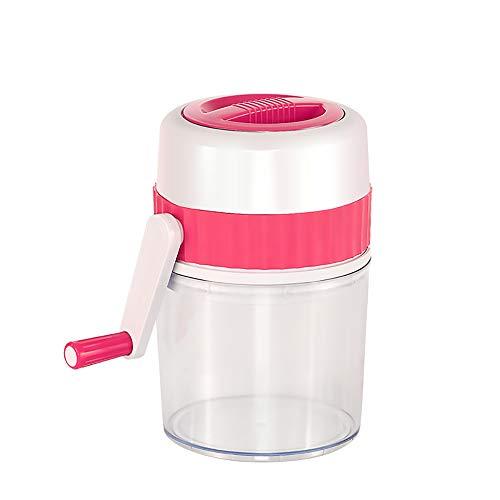 PANGUN Hand-Kreuzfahrer Household Mini Manual Ice Crusher Shaver Shredding Portable Snow Cone Ice Maker Machine