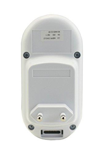 Motorola MBP 8 Babyphone, Digitales Wireless Babyfon, Mit Nachtlicht und DECT-Technologie, Zur Audio-Überwachung, Weiß - 8