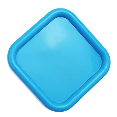 Baoblaze Magnetischer Quadratische Pin Halter, Magnet Nadelspeicher Organizer Halterung Nähen Handwerk Zubehör - Blau (Pin Handgelenk Halterung)