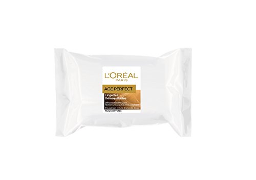 L'Oréal Paris Age Perfect Pack 25 Lingettes Démaquillantes Peaux Matures